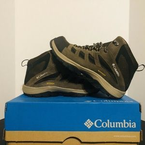 Columbia Crestwood Mid Waterproof Hiking Sz 9.5